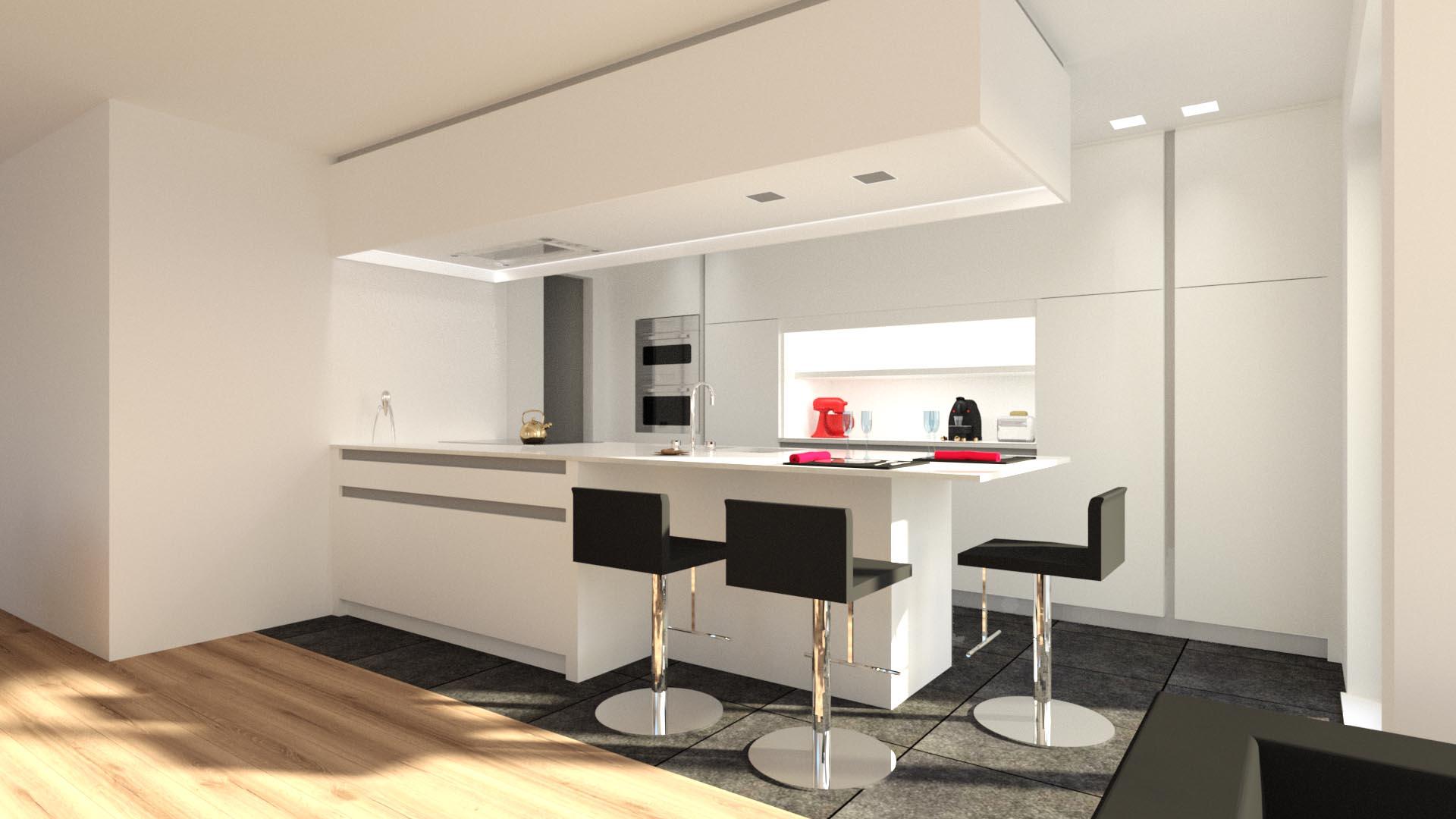Keukenontwerp archieven md interior - Deco keuken ontwerp ...