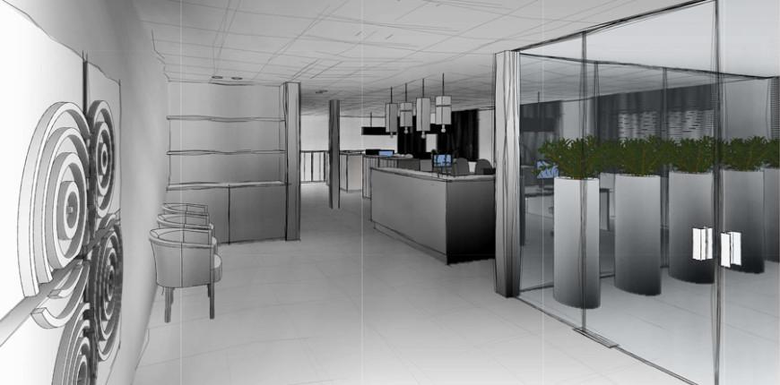Ontwerp renovatie kantoor gekoppeld met bouwbegeleiding - Decoratie ontwerp kantoor ontwerp ...